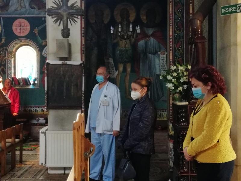 Slujbă de pomenire oficiată în memoria asistentei Lenuța Buta