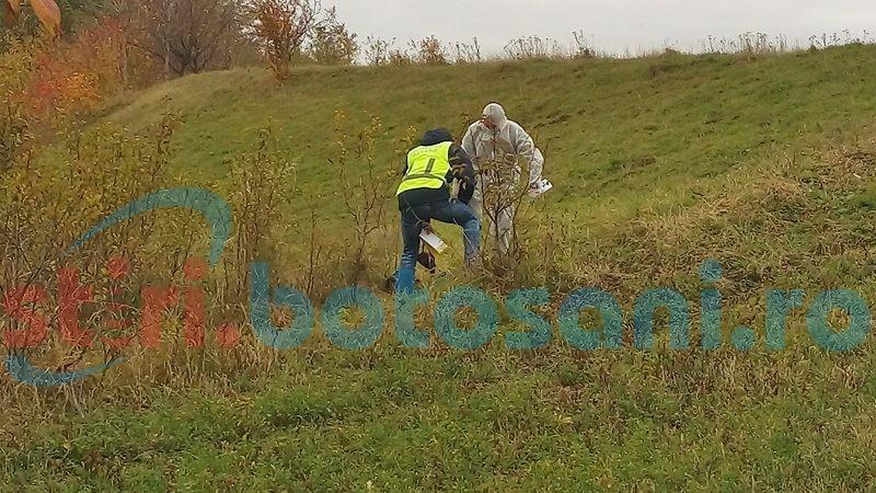 Șocant! Cadavru carbonizat descoperit pe un câmp din județul Botoșani!
