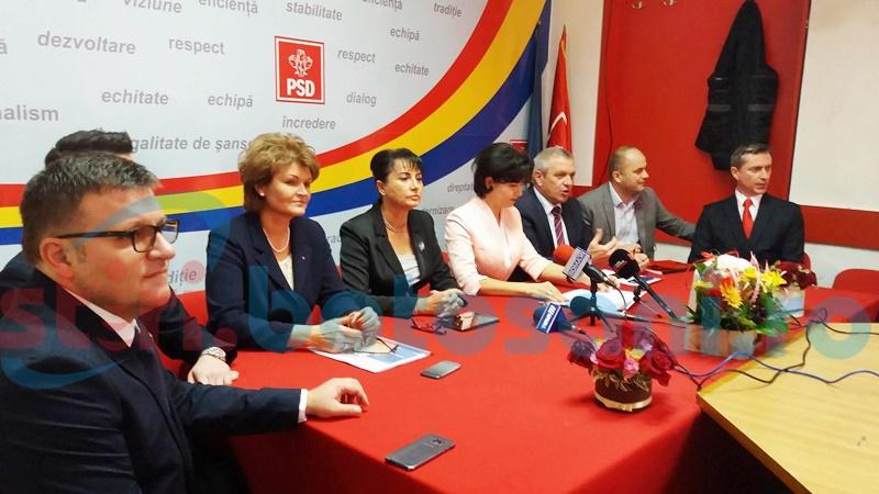 Social-democrații botoșăneni au intrat, oficial, în campania electorală-FOTO