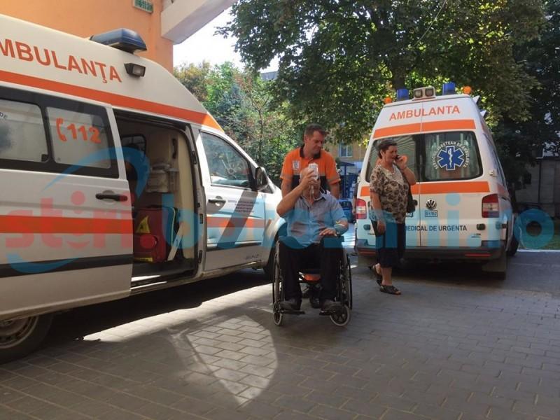 Șofer ajuns la spital după ce i s-a făcut rău în trafic, pe o stradă din Botoșani!