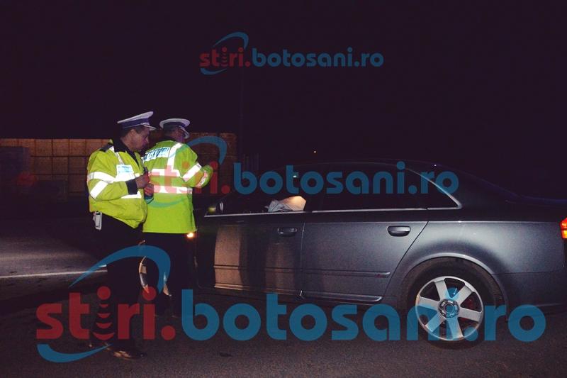 Șofer căutat de Poliție! A abandonat mașina și a fugit după ce a lovit un biciclist!