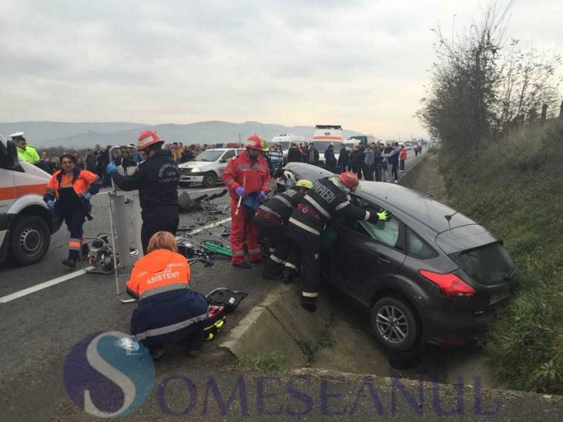 Șofer din Botoșani implicat într-un eveniment rutier: Trei femei rănite în urma accidentului!