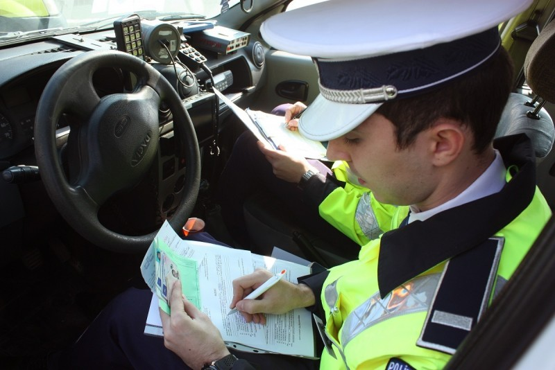 Șofer din Botoșani, sancționat pentru o greșeală pe DE 58!