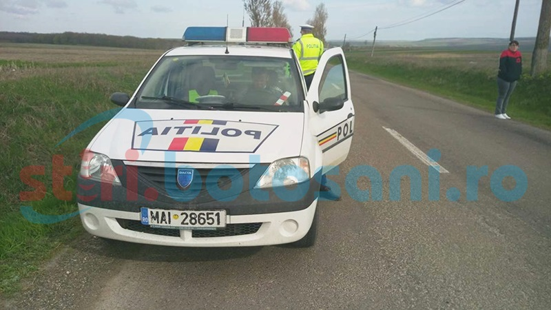 Şofer rănit într-un accident rutier, la Prăjeni!