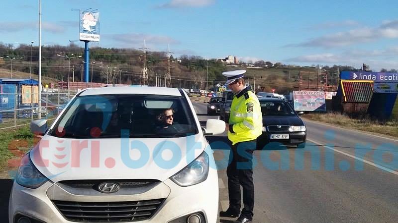 Șoferi trași pe dreapta de polițiști la ieșirea din municipiu! Vezi motivul-FOTO