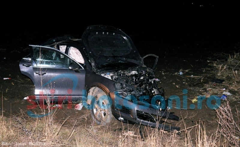Șoferul autoturismului VW Touareg, rănit în accidentul de pe drumul Botoșani-Suceava, a fost diriginte de șantier la Parcul Cornișa