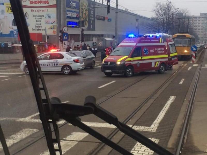 Șoferul care a accidentat o femeie pe trecerea de pietoni și s-a făcut nevăzut, a fost arestat
