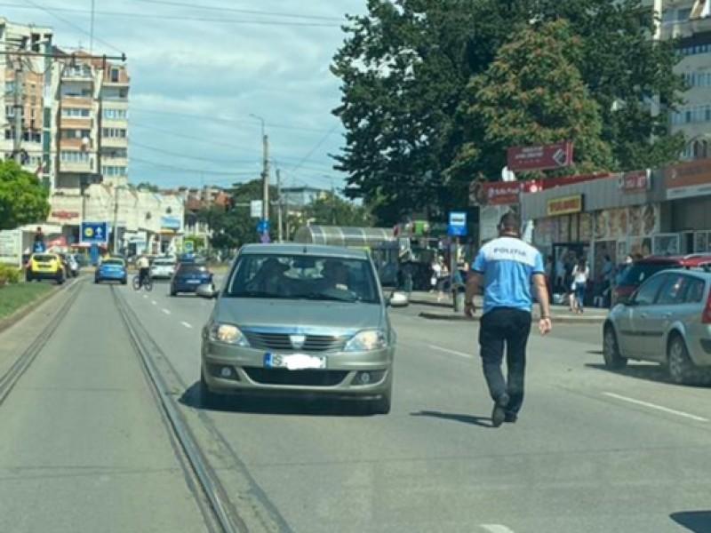 Șoferul care a uimit Botoșaniul: Se deplasa în voie pe contrasens, pe Calea Națională