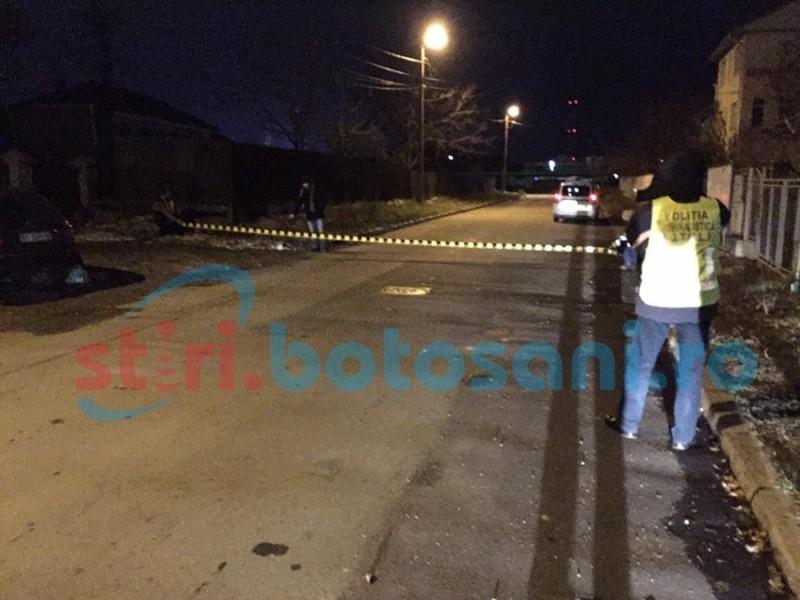Șoferul care și-a abandonat victima pe strada Popăuți a fost REȚINUT!