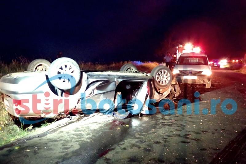 Șoferul care și-a pierdut viața în accidentul de la Săveni era beat!
