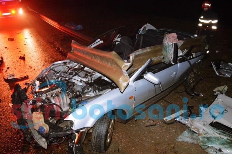 Șoferul mort în accidentul de la Corni avea o alcoolemie uriașă!
