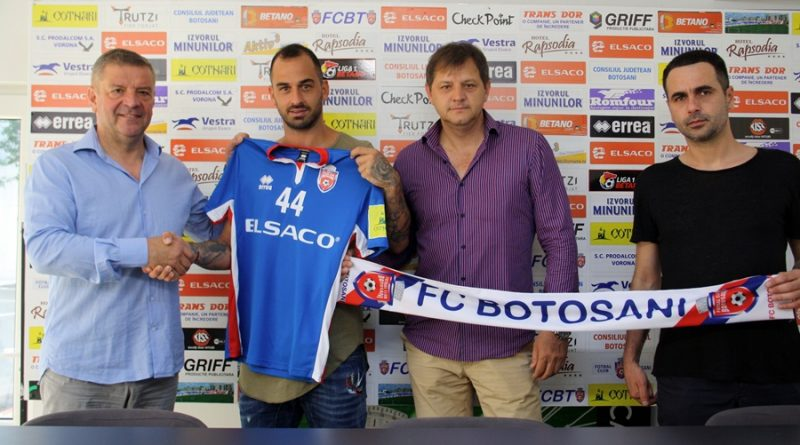 Soiledis Aristeidis a semnat cu FC Botoșani