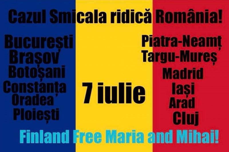 Solidaritate cu dr. Camelia Smicală, sâmbătă, la Botoșani! VIDEO tulburător!