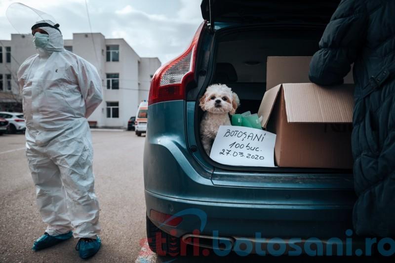 """Solidaritate: """"Împreună pentru personalul medical din Botoșani"""", donații și emoții (foto)"""