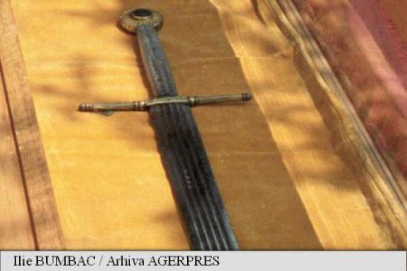 Spadă originală a lui Ștefan cel Mare expusă, în premieră, la Muzeul Bucovinei!