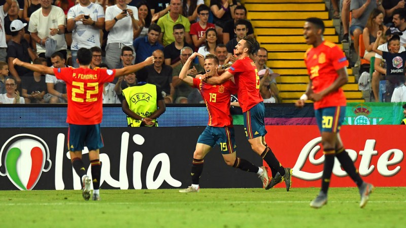 Spania câștigă finala Euro U21