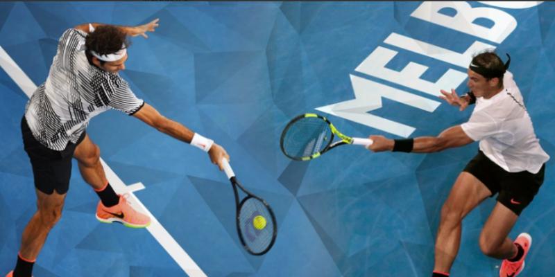 SPECTACOL SPORTIV: Roger Federer vs Rafael Nadal