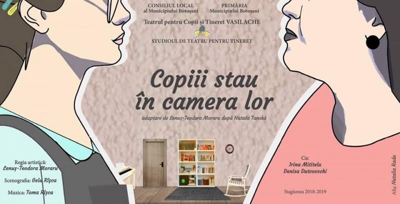 Spectacole pentru adolescenți și prichindei, la Teatrul Vasilache Botoșani!