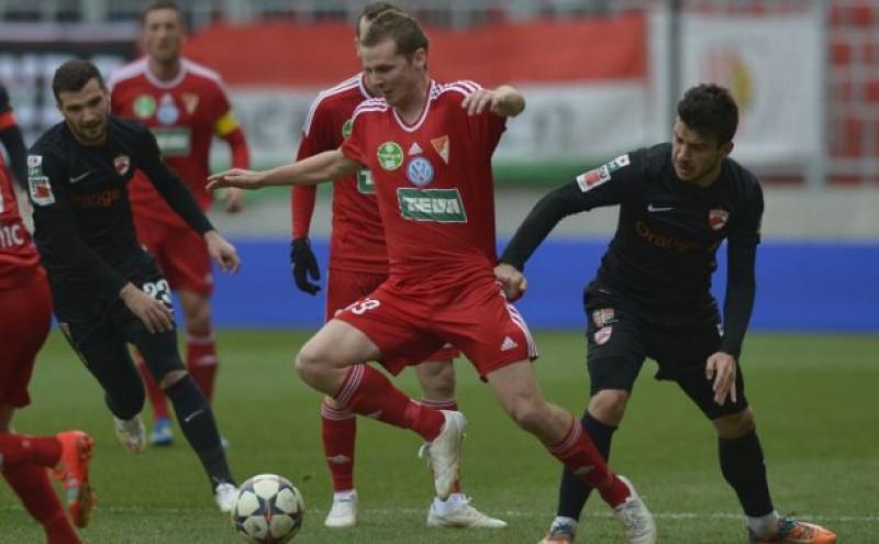 SPORT: Dinamo a fost umilita de Debrecen, scor 6-0, inaintea meciului cu FC Botosani
