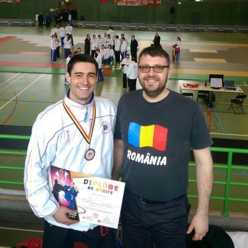 Sportiv de la CS DAO Botoşani, medalie de bronz la Campionatul Mondial de QWAN KI DO seniori!