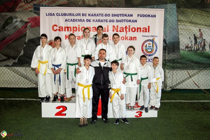 Sportivi botosaneni premiati la Campionatul National de Karate-Do Shotokan - GALERIE FOTO