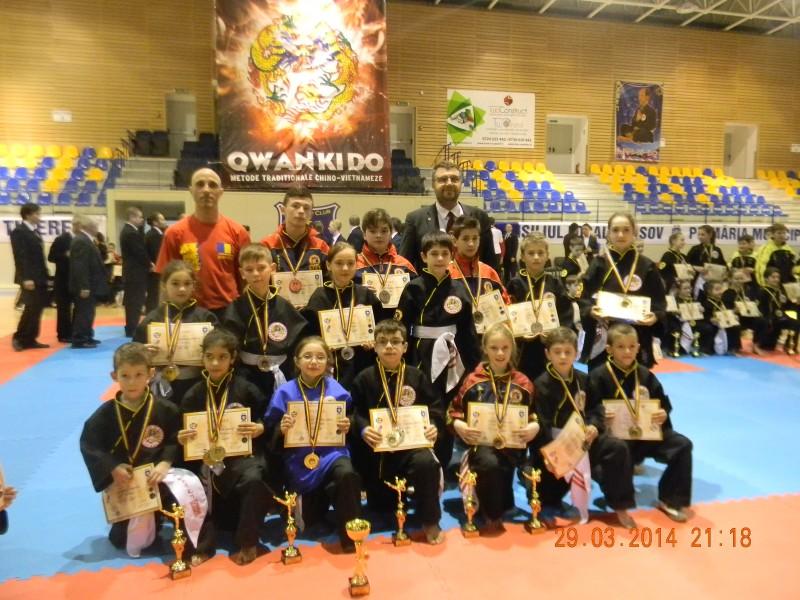 Sportivii botosaneni, pe podiumul Campionatului National de Qwan Ki Do de copii - FOTO