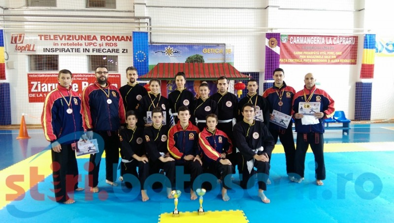 Sportivii clubului Dao Botosani, premiati la Campionatul National de Qwan Ki Do - FOTO