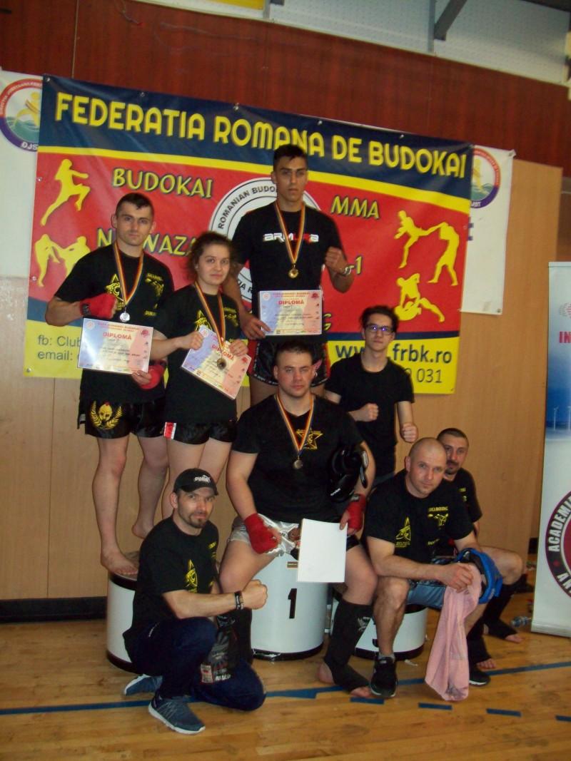 Sportivii de la Black Tiger Botoșani, medaliați la Cupa României Budokai de la Galați! FOTO