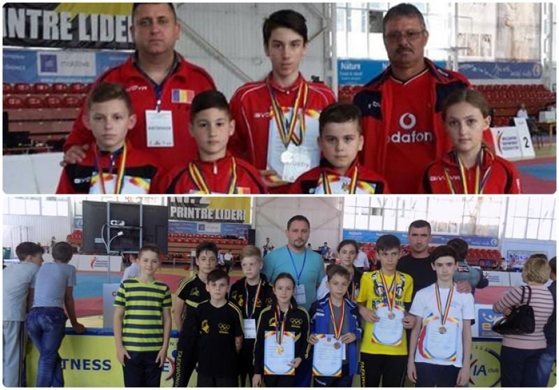 Sportivii de la doua cluburi din Botosani, premiati la un concurs de taekwondo din Chisinau! FOTO