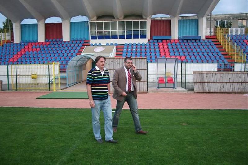 Stadionul Municipal, la inspectie!