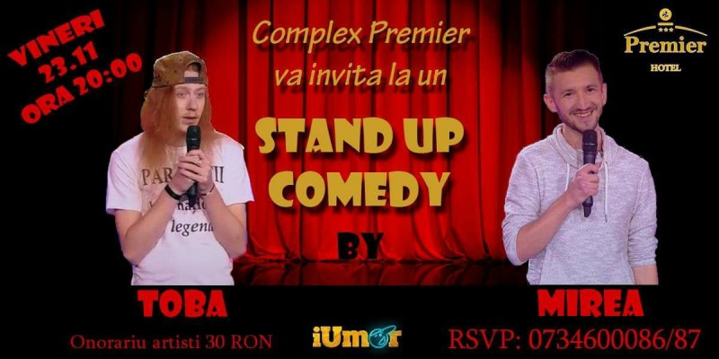 Stand – Up Comedy, la Premier
