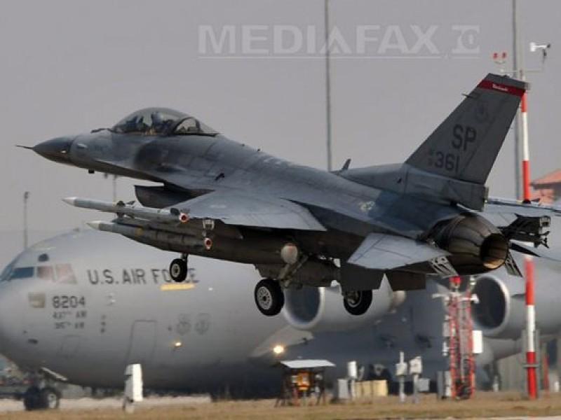 Statele Unite au trimis în România sute de militari şi avioane F-16, pentru descurajarea Rusiei - surse