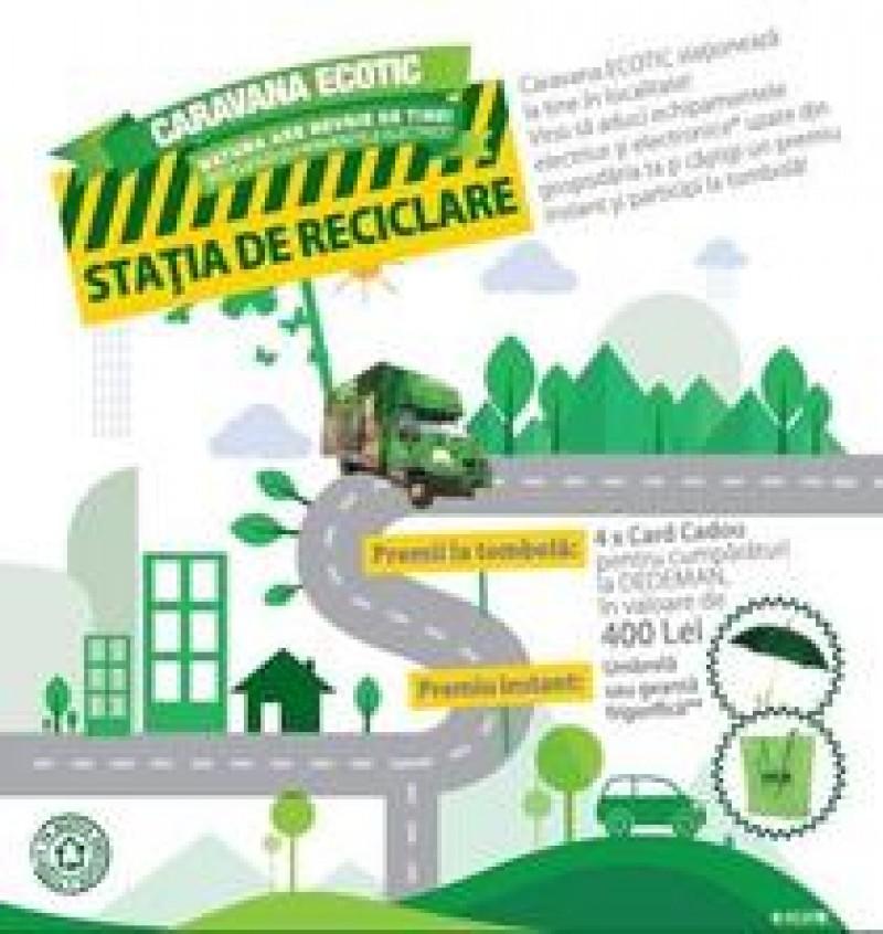 Stația de Reciclare poposește la Botoșani