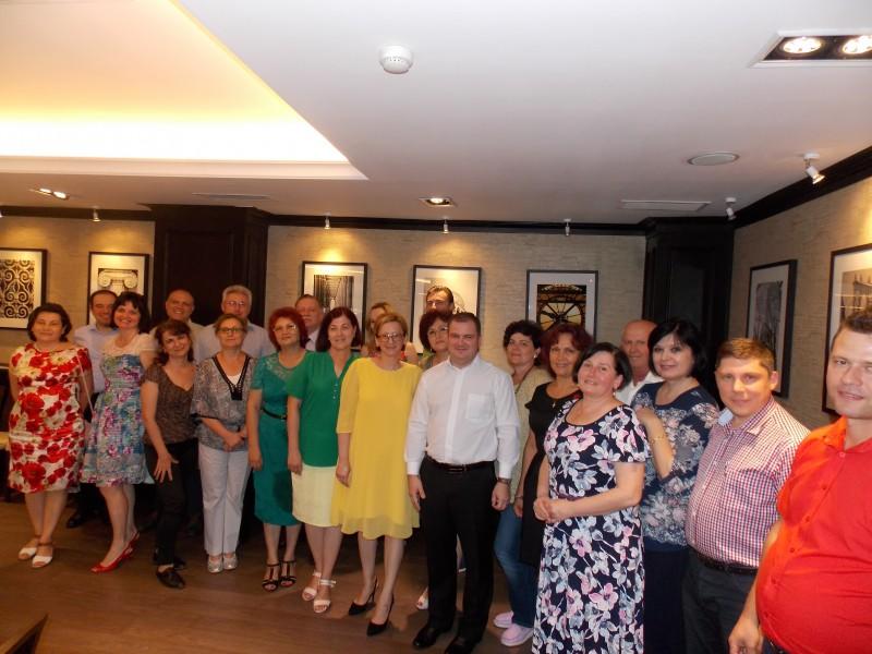 Statisticienii din Botoșani și-au aniversat ziua în deplasare