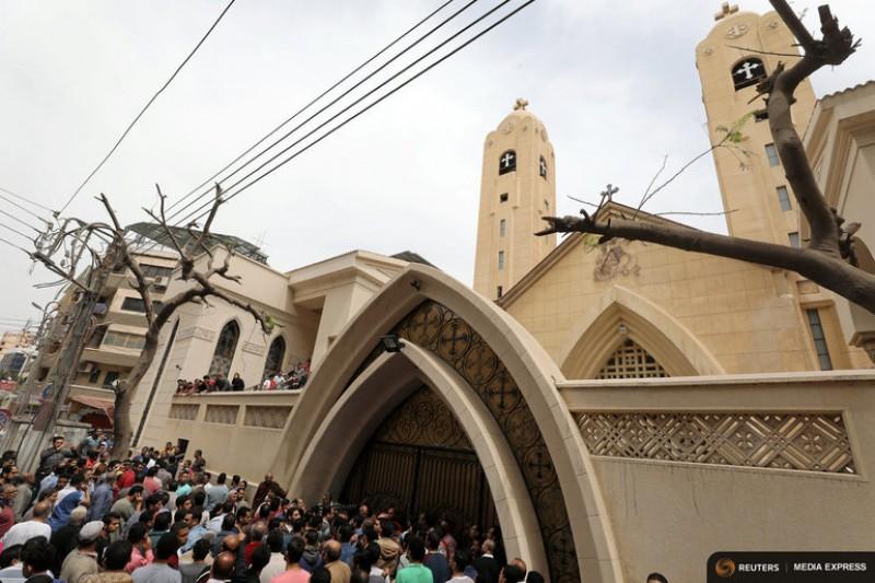 Statul Islamic revendică cele două atentate vizând biserici din Egipt, soldate cu cel puțin 36 de morți 100 de răniți!