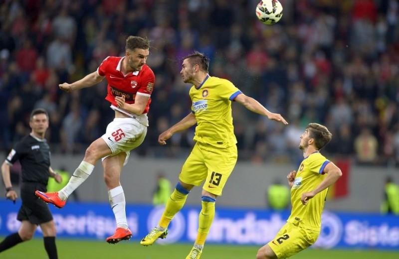 Steaua a castigat in fata lui Dinamo, dupa un meci cu incidente! CLASAMENT
