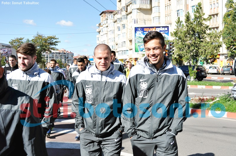 Steaua Bucuresti va sta la Botosani doar o zi si jumatate!