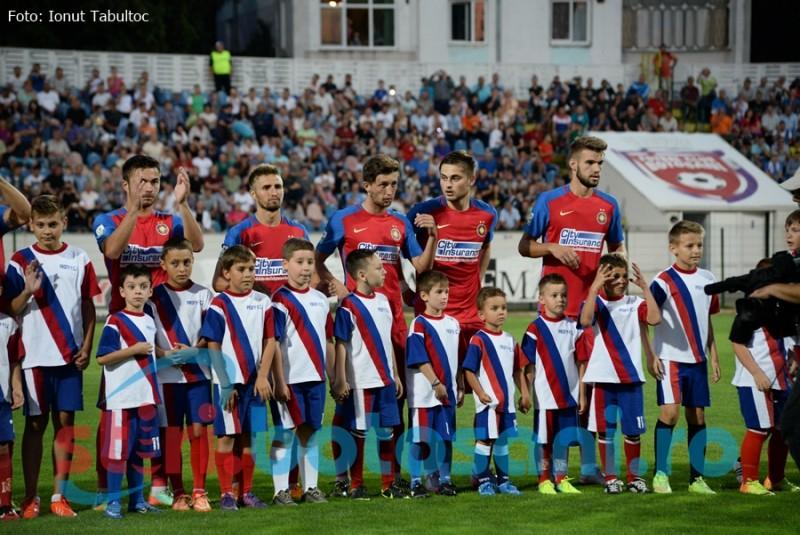 Steaua vine la Botoșani înaintea duelului cu Manchester City din Liga Campionilor!