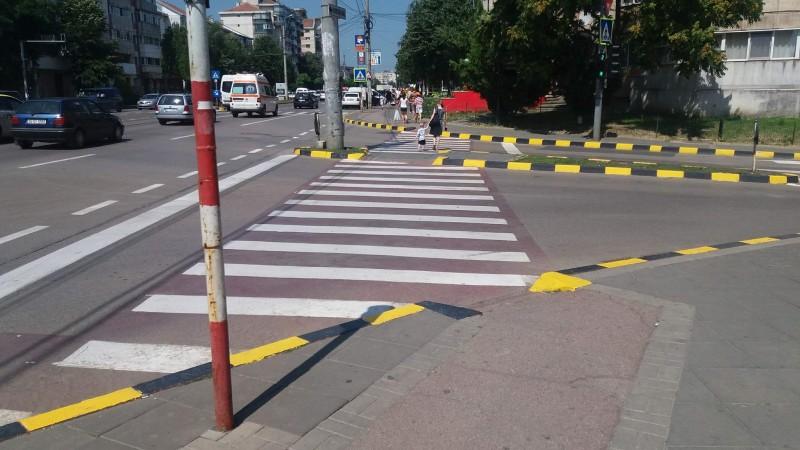 Străzi marcate în municipiul Botoșani doar pe timpul zilei