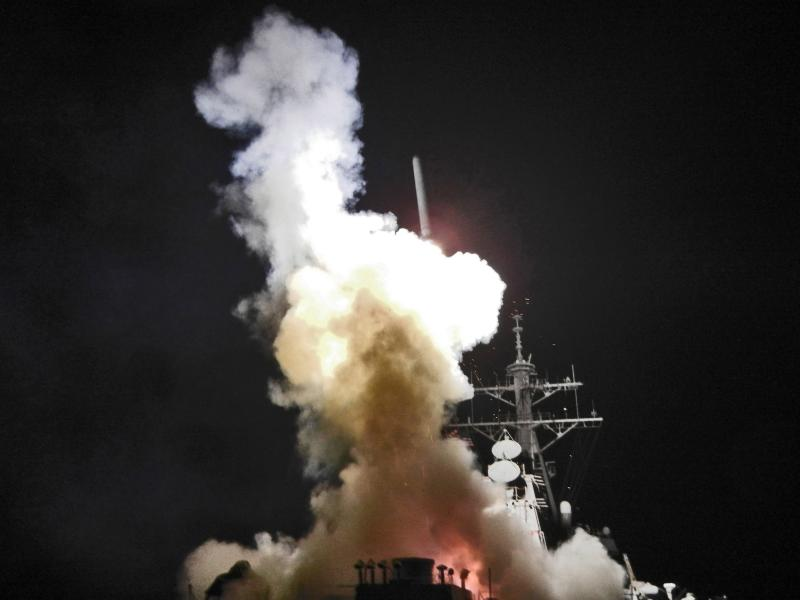 SUA au atacat Siria. Reacția dură a Kremlinului!