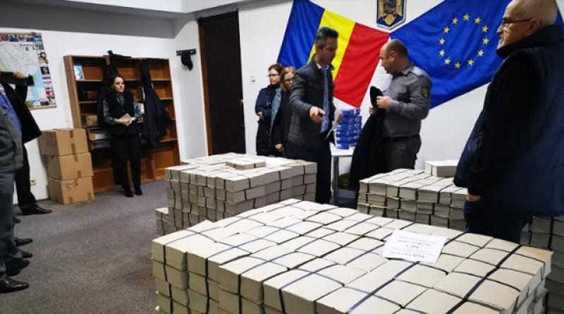 Sub paza Inspectoratului Judeţean de Jandarmi, BULETINELE de vot pentru turul doi au ajuns la Botoșani