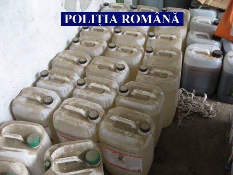 Substanțe periculoase de protecție a plantelor, confiscate de polițiști!