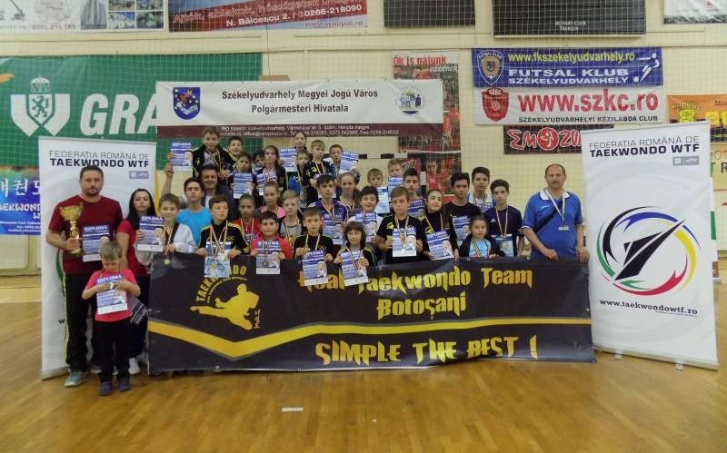 Succes răsunător la Odorheiul Secuiesc al sportivilor de la Real Taekwondo Team