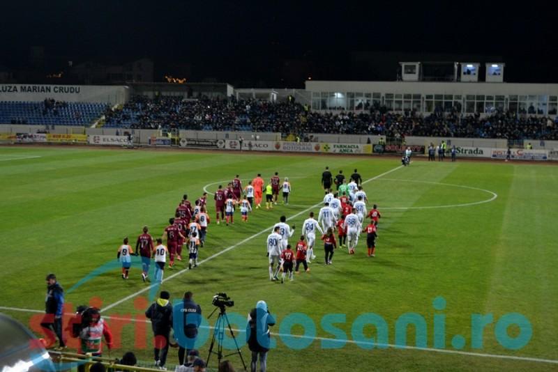 Suporteri sancţionaţi de jandarmii botosaneni cu amenzi de 5.000 de lei, la meciurile de fotbal din 2015!