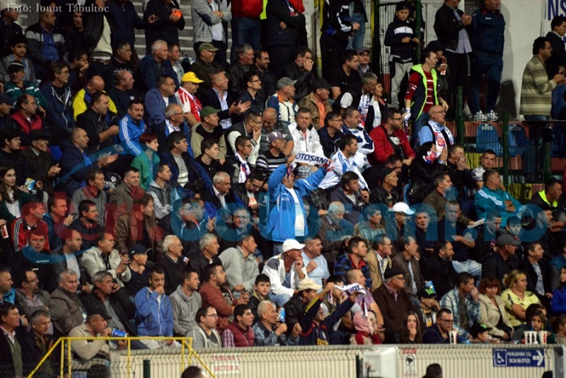 Suporterii sunt chemați la stadion, pentru a opri pasa proastă prin care trece FC Botoșani! 10 lei intrarea generală!