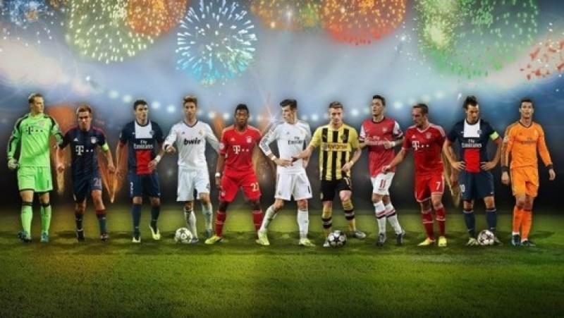 Surpriză uriaşă în echipa UEFA pentru anul 2013!