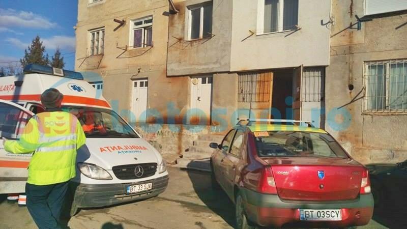 Suspiciune de crimă într-un apartament din municipiul Botoșani! O femeie a fost găsită fără suflare, lângă iubitul beat criță! FOTO