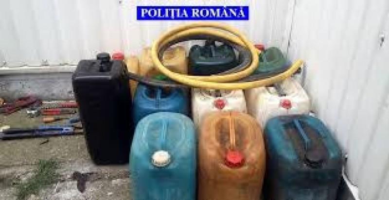 Sute de litri de motorină furați de doi tineri din Botoșani, din autotrenuri!