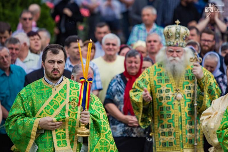 Sute de pelerini la hramul Mănăstirii Gorovei - FOTO, VIDEO