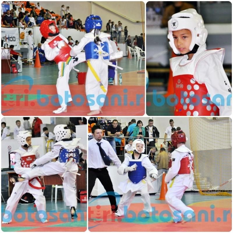 """SUTE de sportivi prezenti la Campionatul National de TAEKWONDO WTF si Turneul """"Botosani Open"""" - FOTO, VIDEO"""